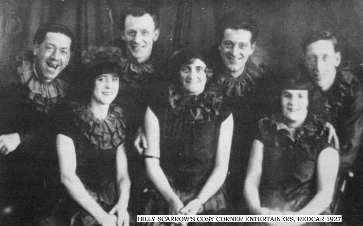 Billy Scarrow's Cosy Corner Entertainers, Redcar 1927