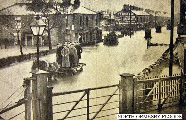 North Ormesby Floods