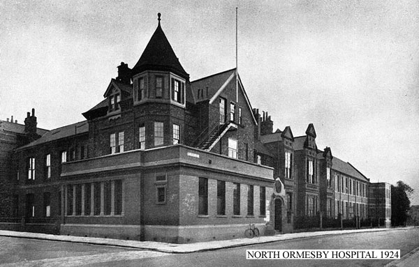 North Ormesby Hospital 1924