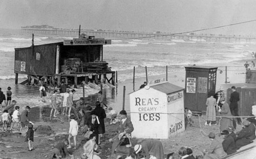 Optimist Beach Enclosure, Redcar 1937