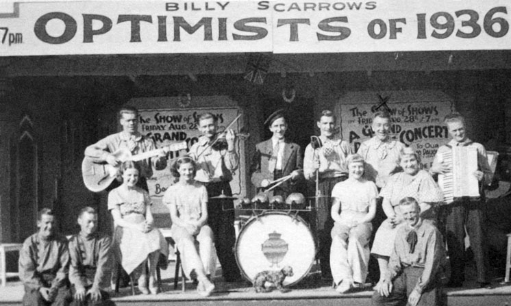 Billy Scarrow's Optimsts of 1936, Redcar