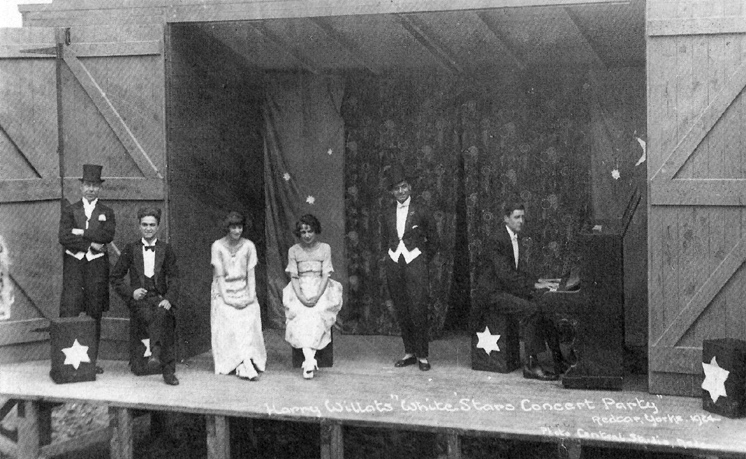 Harry Willat's White Stars Concert Party, Redcar, 1920's